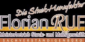 Stuckmanufaktur Florian Ruf.